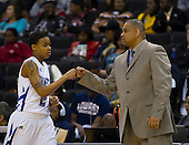 2012 MEAC Basketball Tournament WBBall Hampton beats Norfolk State 61 - 40