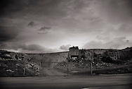 ITALY, Fondi:  A quarry in the industrial area of Pantanello district..©Christian Minelli