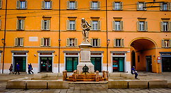 General view of the Piazza Galvani, Bologna, Italy<br /> <br /> (c) Andrew Wilson | Edinburgh Elite media