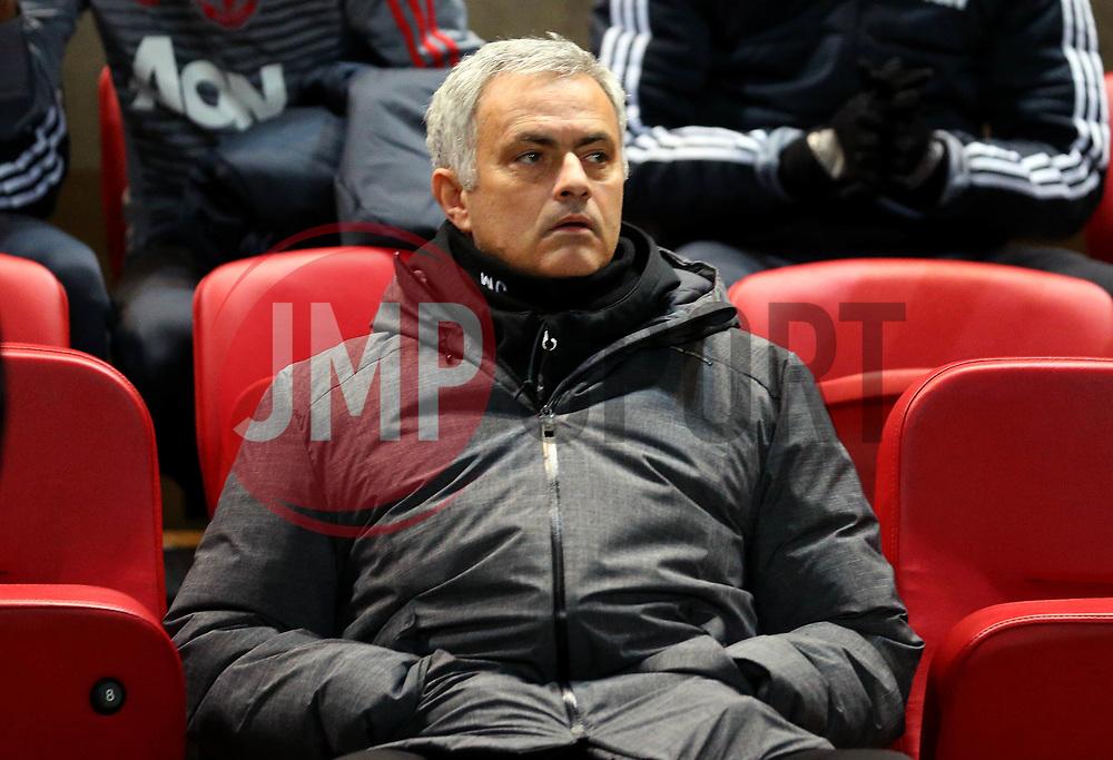 Manchester United manager Jose Mourinho - Mandatory by-line: Robbie Stephenson/JMP - 20/12/2017 - FOOTBALL - Ashton Gate Stadium - Bristol, England - Bristol City v Manchester United - Carabao Cup Quarter Final