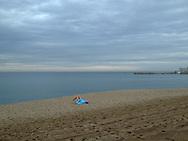 Spain, Barcelona Beach.