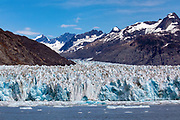 Columbia tidewater glacier near Valdez, Alaska.
