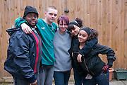 Jill McTighe and family, Willesdon, London, UK