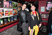 Premiere of 'The British Guide to Showing Off' Jes Benstock's documantary on Andrew Logan's life and 12 Alternative Miss World's. Prince Charles cinema, Leicester Place. London and afterward's at Moonlighting, Greek St. London. 6 November 2011. <br /> <br />  , -DO NOT ARCHIVE-© Copyright Photograph by Dafydd Jones. 248 Clapham Rd. London SW9 0PZ. Tel 0207 820 0771. www.dafjones.com.