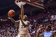 Tallahassee - FL - February 17, 2014: <br /> <br /> Florida State Men's Basketball falls to the University of North Carolina  at Donald L. Tucker Center on February 17, 2014 in Tallahassee, FL. <br /> <br /> &copy;2014 Perrone Ford / PTFPhoto.com