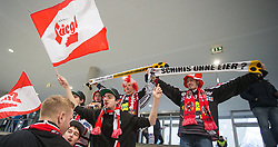 13.02.2016, Olympiaworld, Innsbruck, AUT, Euro Ice Hockey Challenge, Österreich vs Frankreich, im Bild Fans // fans during the Euro Icehockey Challenge Match between Austria and France at the Olympiaworld in Innsbruck, Austria on 2016/02/13. EXPA Pictures © 2016, PhotoCredit: EXPA/ Jakob Gruber
