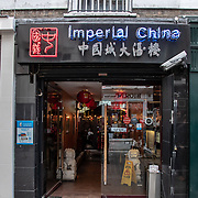 imperial China in London Chinatown Sweet Tooth Cafe and Restaurant at Newport Court and Garret Street on 15 June 2019, UK.