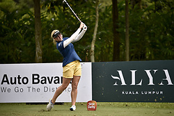October 26, 2017 - Kuala Lumpur, Malaysia - Charley Hull of England during day one of the Sime Darby LPGA Malaysia at TPC Kuala Lumpur on October 26, 2017 in Kuala Lumpur, Malaysia  (Credit Image: © Chris Jung/NurPhoto via ZUMA Press)