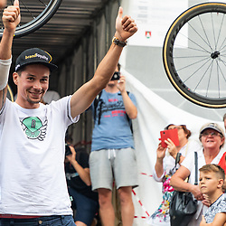 20180806: SLO, Cycling - Reception of Primoz Roglic after he placed 4th at Tour de France 2018