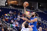 DESCRIZIONE : Berlino Eurobasket 2015 Islanda Italia<br /> GIOCATORE : Luigi Datome<br /> CATEGORIA : penetrazione sottomano<br /> SQUADRA : Italia<br /> EVENTO : Eurobasket 2015<br /> GARA : Islanda Italia<br /> DATA : 06/09/2015<br /> SPORT : Pallacanestro<br /> AUTORE : Agenzia Ciamillo&shy;Castoria/M.Longo<br /> Galleria : Eurobasket 2015<br /> Fotonotizia : Berlino Eurobasket 2015 Islanda Italia