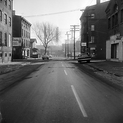 Robert F Anderson On-The-Scene Accident Photographs at Wallace - Saint John Streets New Haven CT - Circa 1962