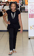 LaRashia Simone Edwards of Trotwood during a fashion show at the Elder Beerman store in the Dayton Mall, Saturday, August 14. 2010..