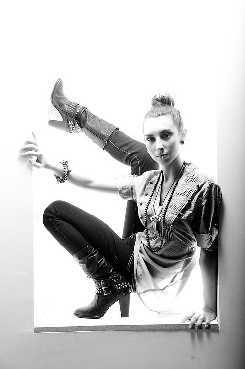 """""""White Box #381"""" Model: Sara"""
