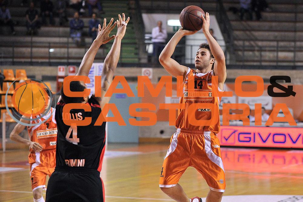 DESCRIZIONE : Udine Lega A2 2010-11 Snaidero Udine Immobiliare Spiga Rimini<br /> GIOCATORE : Riccardo Truccolo<br /> SQUADRA : Snaidero Udine<br /> EVENTO : Campionato Lega A2 2010-2011<br /> GARA : Snaidero Udine Immobiliare Spiga Rimini<br /> DATA : 06/05/2011<br /> CATEGORIA : Tiro<br /> SPORT : Pallacanestro <br /> AUTORE : Agenzia Ciamillo-Castoria/S.Ferraro<br /> Galleria : Lega Basket A2 2010-2011 <br /> Fotonotizia : Udine Lega A2 2010-11 Snaidero Udine Immobiliare Spiga Rimini<br /> Predefinita :