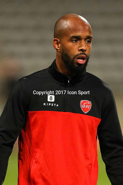 Loic Nestor during the Ligue 2 match between Paris Fc and Valenciennes at Stade Charlety on October 20, 2017 in Paris, France. (Photo by Anthony Massardi/Icon Sport )