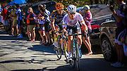 Professional cyclist Mark Cavendish at the Amgen Tour of California, Santa Monica Mountains, California USA
