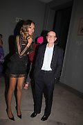 JOURDAN DUNN, Vogue100 A Century of Style. Hosted by Alexandra Shulman and Leon Max. National Portrait Gallery. London. WC2. 9 February 2016.
