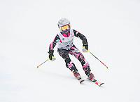 Gus Pitou giant slalom race at Gunstock - U10, U12, U14.  Karen Bobotas Photographer