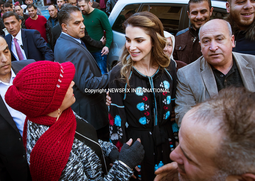 06.02.2017; Al Salt, Jordan: QUEEN RANIA<br />visited some of Al Salt&rsquo;s heritage and touristic initiatives, dropping by Beit Aziz&rsquo;s bed and breakfast, and the oldest Arabic sweet shop in the heart of Al Salt to support the success of grassroots development projects in the city.<br />Mandatory Photo Credit: &copy;Royal Hashemite Court/NEWSPIX INTERNATIONAL<br /><br />PHOTO CREDIT MANDATORY!!: NEWSPIX INTERNATIONAL(Failure to credit will incur a surcharge of 100% of reproduction fees)<br /><br />IMMEDIATE CONFIRMATION OF USAGE REQUIRED:<br />Newspix International, 31 Chinnery Hill, Bishop's Stortford, ENGLAND CM23 3PS<br />Tel:+441279 324672  ; Fax: +441279656877<br />Mobile:  0777568 1153<br />e-mail: info@newspixinternational.co.uk<br />&ldquo;All Fees Payable To Newspix International&rdquo;