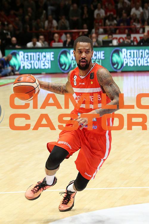 Maynor Eric<br /> The Flexx Pistoia - Openjobmetis Varese<br /> Lega Basket Serie A 2016/2017<br /> Pistoia 30/10/2016<br /> Foto Ciamillo-Castoria