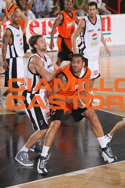 DESCRIZIONE : Caserta Lega A1 2007-08 Torneo Citt&agrave; di Caserta Pepsi Caserta Snaidero Udine<br /> GIOCATORE : Christian Di Giuliomaria<br /> SQUADRA : Snaidero Udine<br /> EVENTO : Campionato Lega A1 2007-2008 <br /> GARA : Pepsi Caserta Snaidero Udine<br /> DATA : 16/09/2007 <br /> CATEGORIA : Penetrazione<br /> SPORT : Pallacanestro <br /> AUTORE : Agenzia Ciamillo-Castoria/M.Marchi