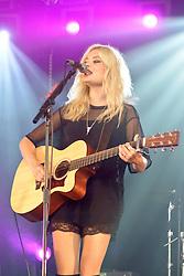 Image ©Licensed to i-Images Picture Agency. 05/07/2014. Oxford, United Kingdom. Cornbury Festival. Nina N perform at the Cornbury Festival. Picture by Rosalind Butt/ i-Images