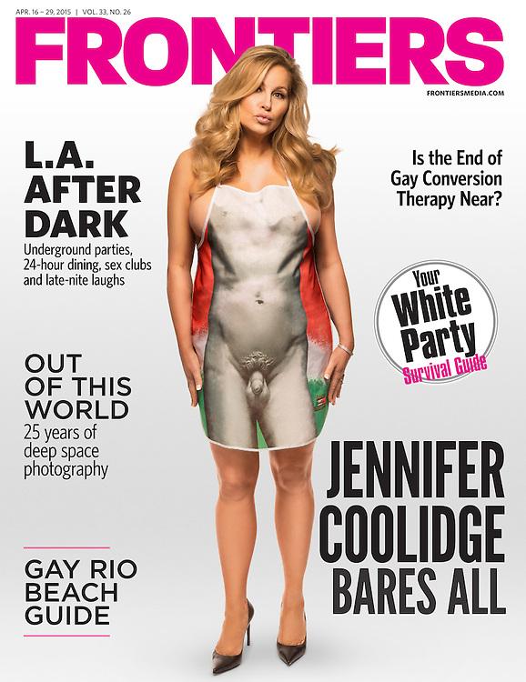 Jennifer Coolidge<br /> Frontiers April 2015