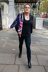 © Licensed to London News Pictures. 20/10/2018. London, UK. EDDIE IZZARD attend the People's vote on Brexit. More than 100,000 people are expected to take to the streets of London to demand a second Brexit Referendum. Photo credit: Ray Tang/LNP
