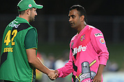 Northern Knights Tarun Nethula following the Burger King Super Smash T20 cricket match between the Central Stags and the Northern Knights, McLean Park, Napier, Friday, January 25, 2019. Copyright photo: Kerry Marshall / www.photosport.nz