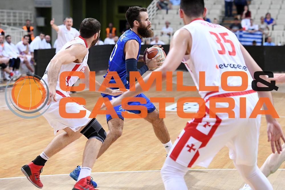 Luigi Datome<br /> Nazionale Italiana Maschile Senior<br /> Torneo dell Acropolis<br /> Italia Georgia Italy Georgia<br /> FIP 2017<br /> Atene, 25/08/2017<br /> Foto M.Ceretti / Ciamillo - Castoria