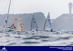 Enoshima, Round one of the 2020 World Cup Series. © Pedro Martinez / Sailing Energy / World Sailing<br /> 28 August, 2019.