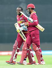 Napier-Cricket, CWC, West Indies v UAE