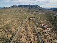 Drone aerial real estate land photographer, Scottsdale, AZ