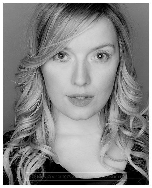 Headshot of actress Joy McAvoy.
