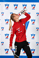 Warsaw, Poland - 2017 December 08: Tennis player Paulina Czernik from Poland poses while Photo Session of Fed Cup Team of Polish Tennis Association at Mera Tennis Club on December 08, 2017 in Warsaw, Poland.<br /> <br /> Mandatory credit:<br /> Photo by © Adam Nurkiewicz / Mediasport<br /> <br /> Adam Nurkiewicz declares that he has no rights to the image of people at the photographs of his authorship.<br /> <br /> Picture also available in RAW (NEF) or TIFF format on special request.<br /> <br /> Any editorial, commercial or promotional use requires written permission from the author of image.