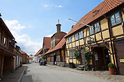 "Ystad. Hotell Anno 1793 Sekelgården (r.) and the Brewery..Bo Runfelt, a witness in ""The Fifth Woman"", and Birgitta Törn from the Foreign Office in ""The Dogs of Riga"", stay in this hotel as do Ludwigsson and Hamrén, two policemen assigned to help the Ystad police in the book ""Sidetracked""."