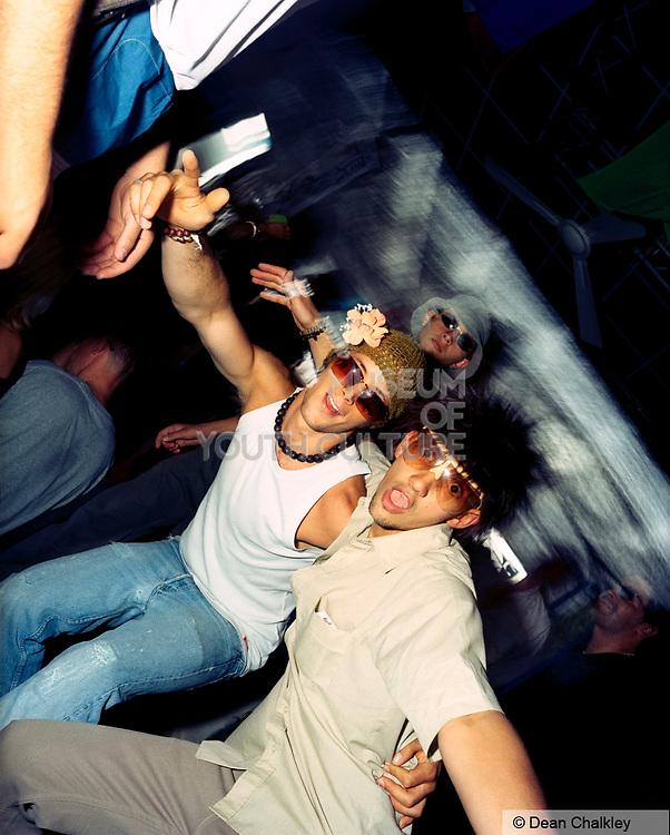 Space club Ibiza blokes