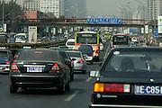 Heavy traffic.