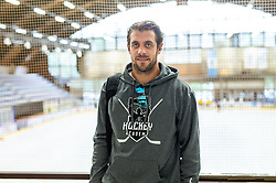 Anze Kopitar after the practice at Hockey Academy of Anze Kopitar and Tomaz Razingar, on July 9, 2019 in Ice Hockey arena Bled, Slovenia. Photo by Vid Ponikvar / Sportida