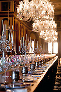 The '101' is the longest dining table in the world. It is now used to host private sit-down<br /> dinners and banquets at the Falaknuma<br /> Palace, in an attempt to capture the lost glory of Hyderabadi hospitality.