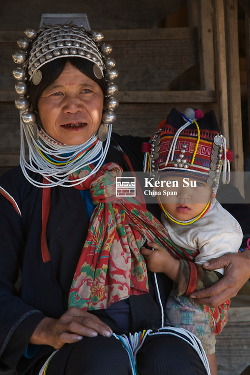 Akha people, Kengtung, Myanmar