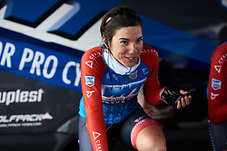 Ane Santesteban (ESP) at Healthy Ageing Tour 2019 - Stage 4A, a 14.4km individual time trial starting and finishing in Winsum, Netherlands on April 13, 2019. Photo by Sean Robinson/velofocus.com