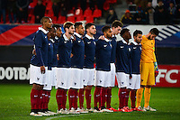 Groupe France - 25.03.2015 - Football Espoirs - France / Estonie - Match Amical -Valenciennes<br /> Photo : Dave Winter / Icon Sport
