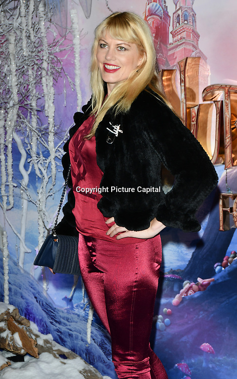 Meredith Ostrom attend The Nutcracker and the Four Realms - UK premiere at Vue Westfield, Westfield Shopping Centre, Ariel Way on 1st Nov 2018, London, UK.