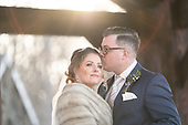 Stephanie & Angelo's stunning winter wedding at Ancaster Mill