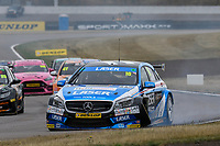 #16 Aiden Moffat Laser Tools Racing Mercedes-Benz A-Class during BTCC Race 2  as part of the Dunlop MSA British Touring Car Championship - Rockingham 2018 at Rockingham, Corby, Northamptonshire, United Kingdom. August 12 2018. World Copyright Peter Taylor/PSP. Copy of publication required for printed pictures.