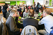 VIP dining during the EFL Sky Bet League 2 match between Forest Green Rovers and Salford City at the New Lawn, Forest Green, United Kingdom on 18 January 2020.