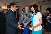 HAIG AVAKIAN; KAMILYA NOVOKSHONOVA; LARISA ARCHAKOVA, The Foreign Sisters lunch sponsored by Avakian in aid of Cancer Research UK. The Dorchester. 15 May 2012