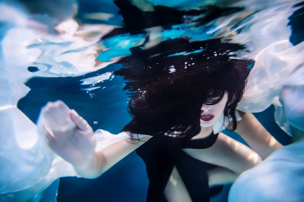 &quot;UnderCurrents&quot; A surrealistic underwater photo series by Nate Dorn Images.<br /> -Sleepwalking, Breath, &amp; Pretty Bubbles.