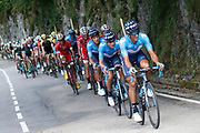 Daniele Bennati (ITA, Movistar) during the 73th Edition of the 2018 Tour of Spain, Vuelta Espana 2018, Stage 13 cycling race, Candas Carreno - La Camperona 174,8 km on September 7, 2018 in Spain - Photo Luca Bettini / BettiniPhoto / ProSportsImages / DPPI